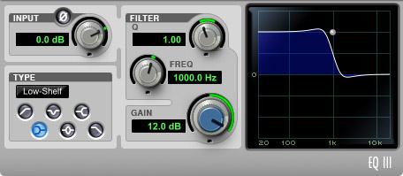 EQ +12 dB