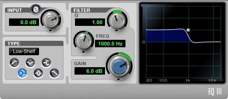 EQ +6 dB