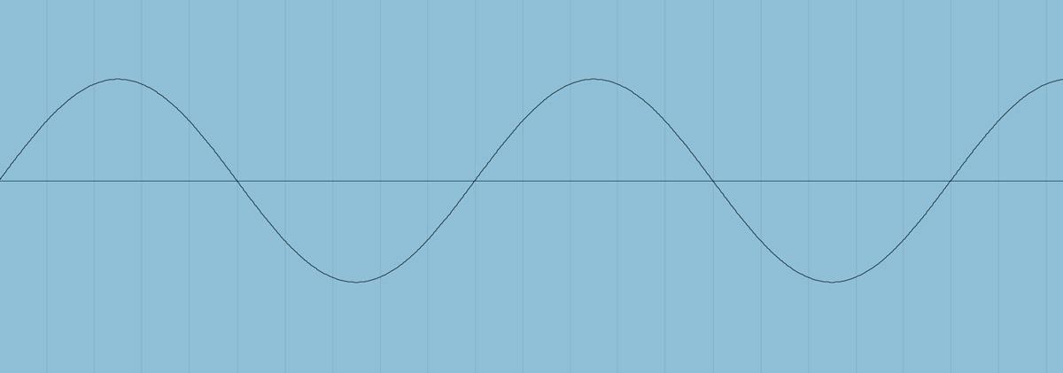 Sine wave in DAW