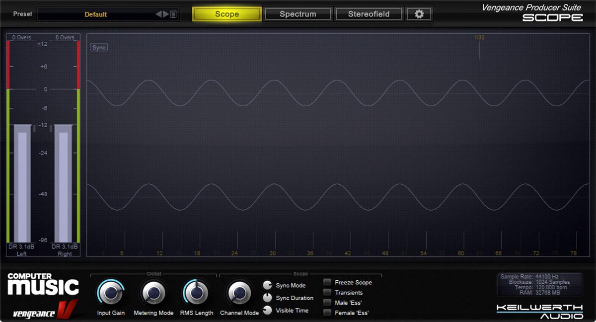 Decapitated waveform