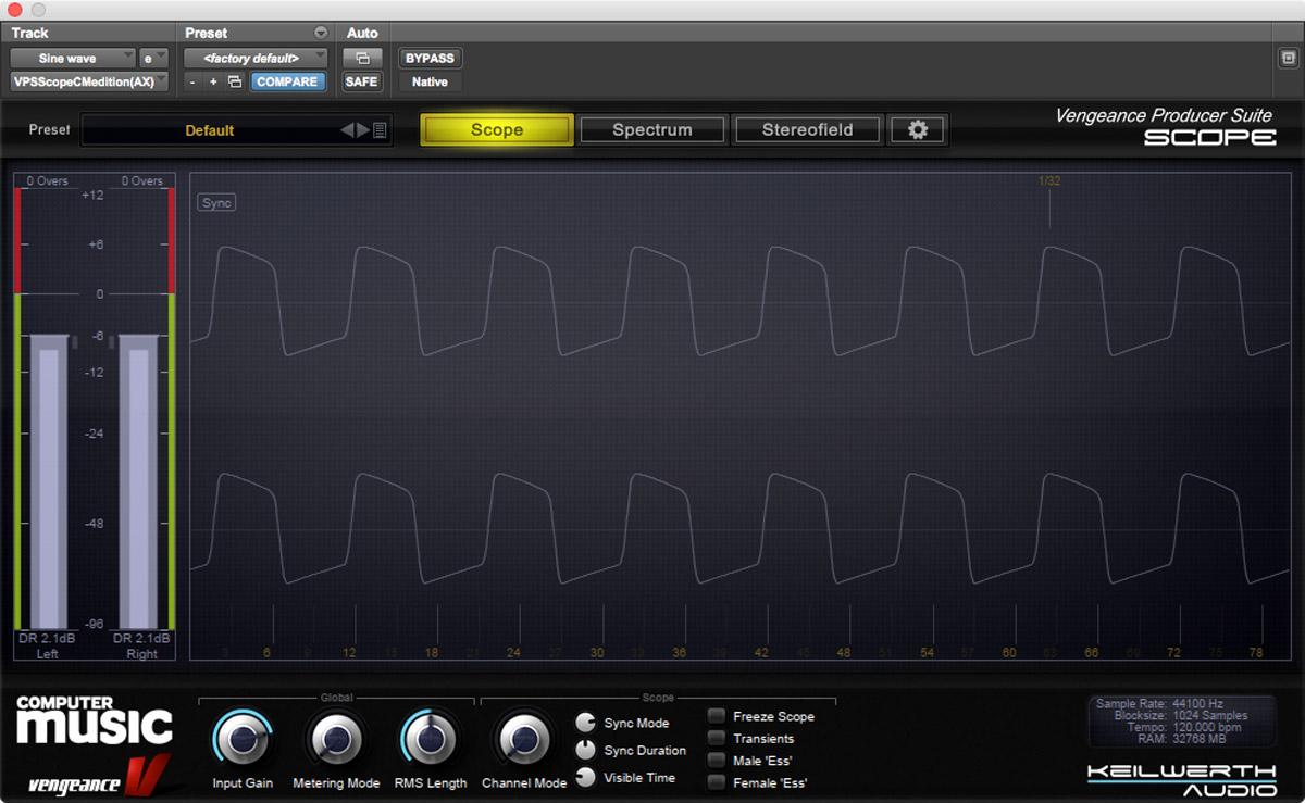 Increased drive waveform