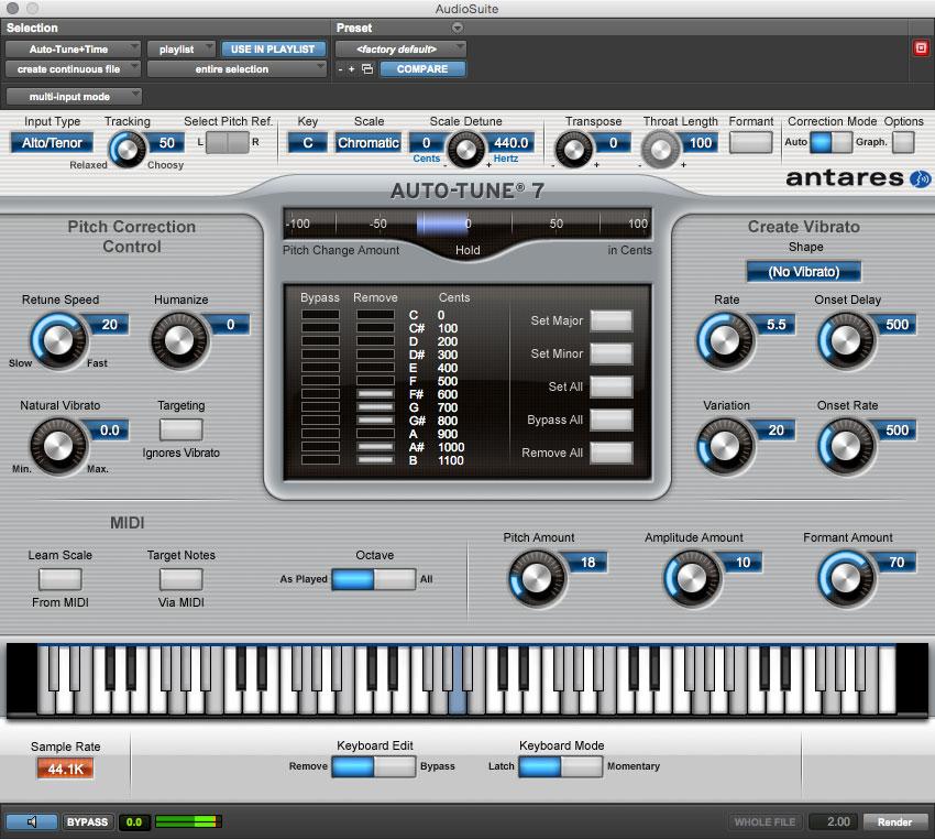 Auto-Tune AudioSuite