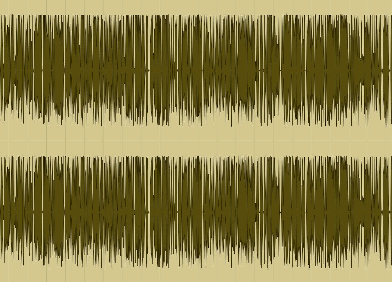 Waveform at -11.5 LUFS