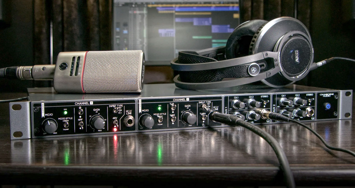 Cranbourne Audio EC2 microphone preamplifier