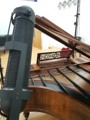 Erard piano, AEA microphone