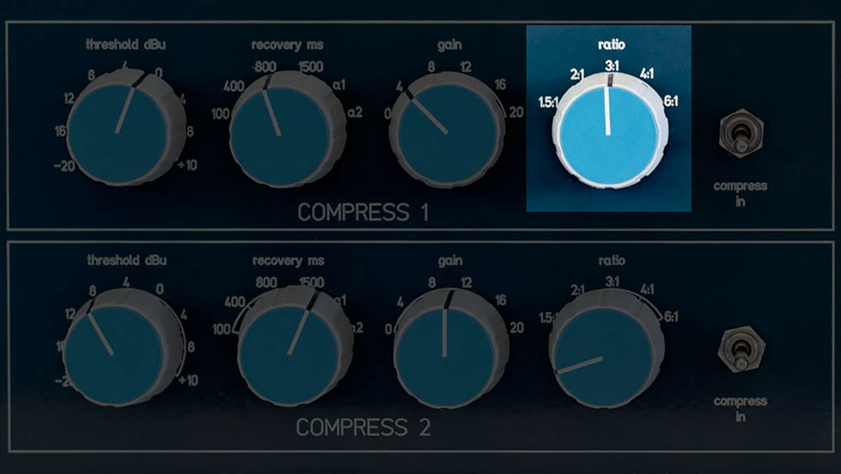 Compressor ratio control