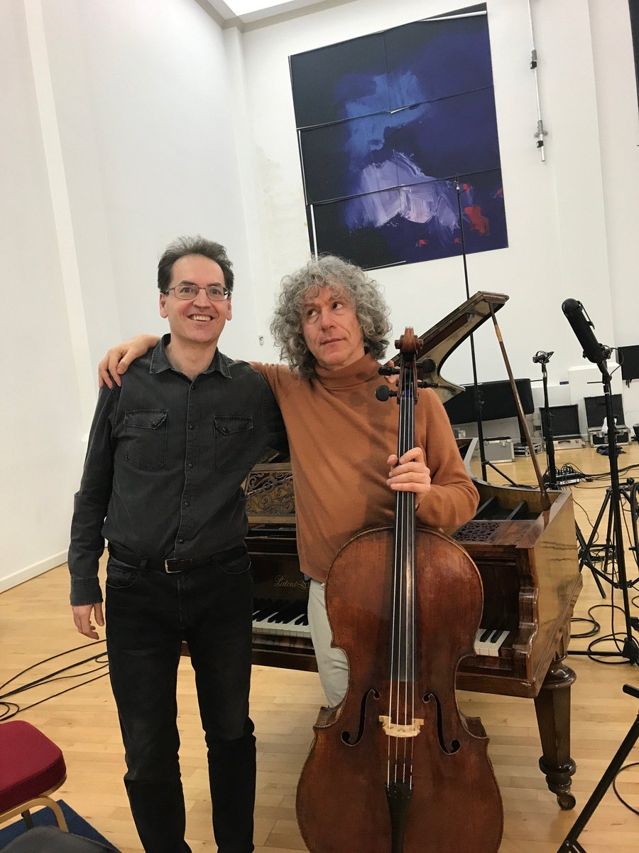 Steven Isserlis and Dénes Várjon