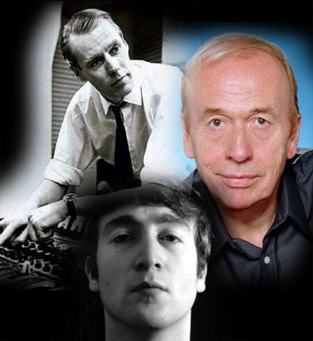 John Lennon, George Martin, Geoff Emerick