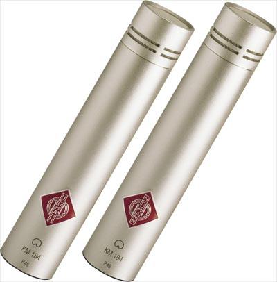 Neumann KM184 small-diaphragm capactitor microphone