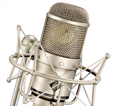 Neumann M147 vacuum-tube microphone