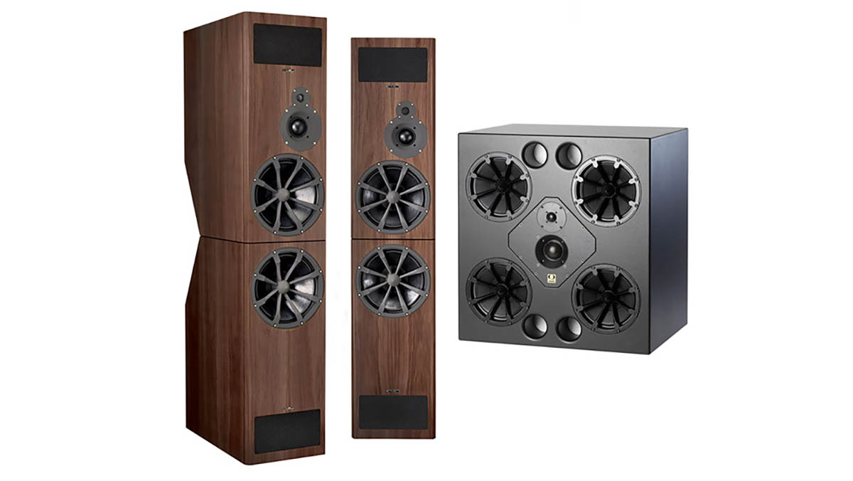 PMC and Quested loudspeakers