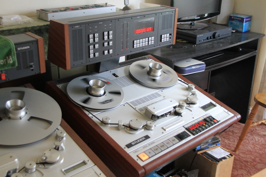 Studer DASH digital tape recorder