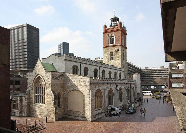 St Giles, Cripplegate, London