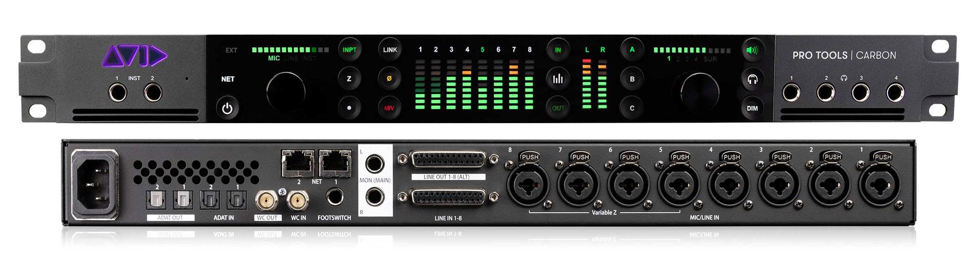 Avid Pro Tools Carbon audio interface